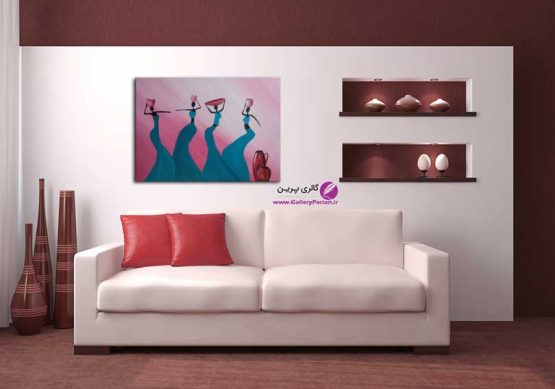 تابلو نقاشی زنان سیاه پوست