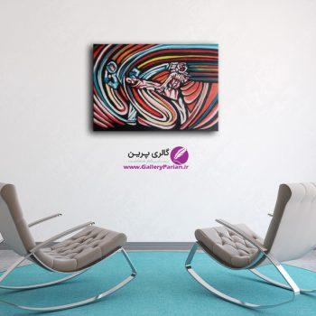 تابلو نقاشی تکواندو