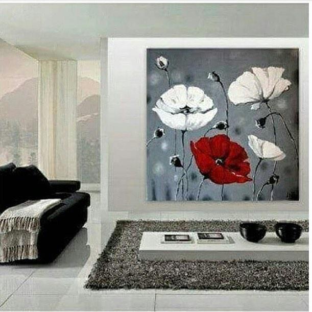 دکوراسیون با تابلو نقاشی، تابلو نقاشی،نقاشی اکریلیک،تایلو نقاشی مدرن،نقاشی مدرن،دکوراسیون مدرن