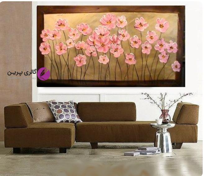 سفارش تابلو نقاشی،تابلو نقاشی مدرن،فروشگاه اینترنتی تابلو نقاشی،نکاتی که در نصب تابلو بر دیوار باید مورد توجه قرار دهیم،نقاشی گل