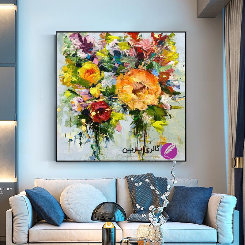 استفاده از تابلو نقاشی و زیبا شدن دکوراسیون منزل شما
