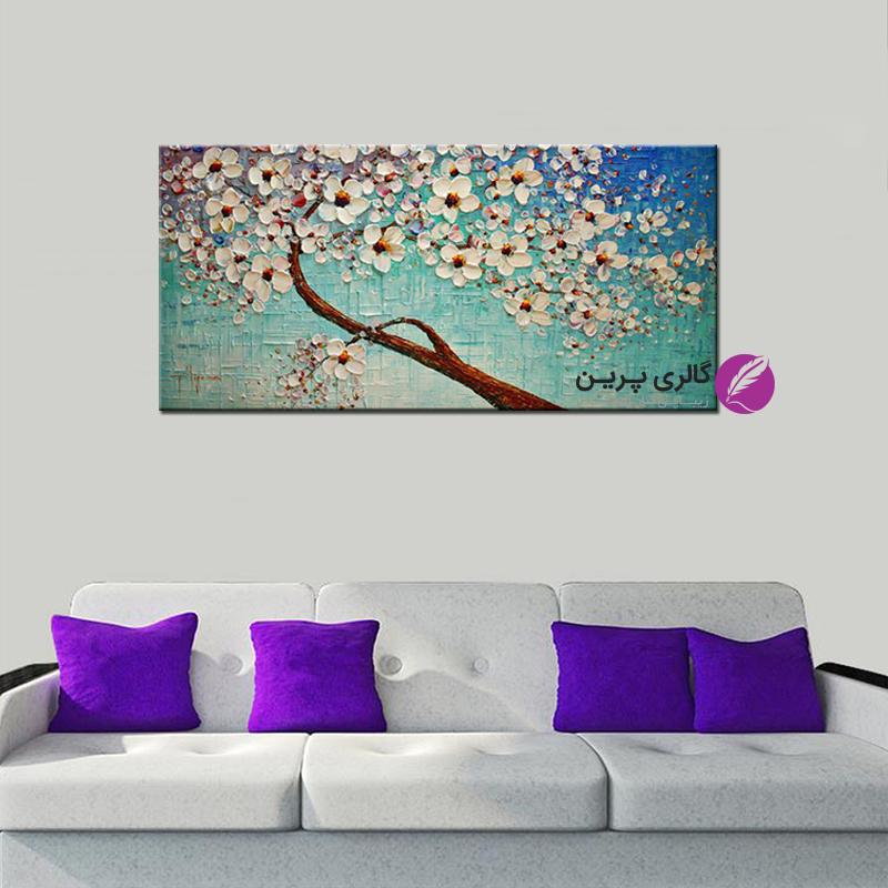 نقاشی مدرن،تابلو نقاشی گل،تابلو نقاشی گل برحسته،انتخاب تابلو نقاشی،فروشگاه اینترنتی تابلو نقاشی