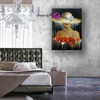 تابلو نقاشی مدرن دختر،نقاشی مدرن،فروشگاه اینترنتی تابلو نقاشی،نقاشی مدرن،تابلو نقاشی مدرن،نقاشی رنگ و روغن،نقاشی کلاسیک،تابلو نقاشی گل،فروش اینترتی تابلو