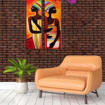 نقاشی زنان سیاه پوست،تابلو مصری،تابلو مدرنفتابلو کوبیسم،تابلو نقاشی زن،تابلو نقاشی زنان مصری،تابلو نقاشی زنان افریغایی،نقاشی دکوراتیو،فروش تابلو نقاشی رنگ و روغن،نقاشی زنان مصری