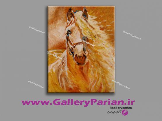 تابلو نقاشی اسب،نقاشی اسب،نقاشی مدرن،نقاشی رنگ و روغن،فروش تابلو نقاشی مدرن،فروشگاه اینترنتی تابلو نقاشی مدرن