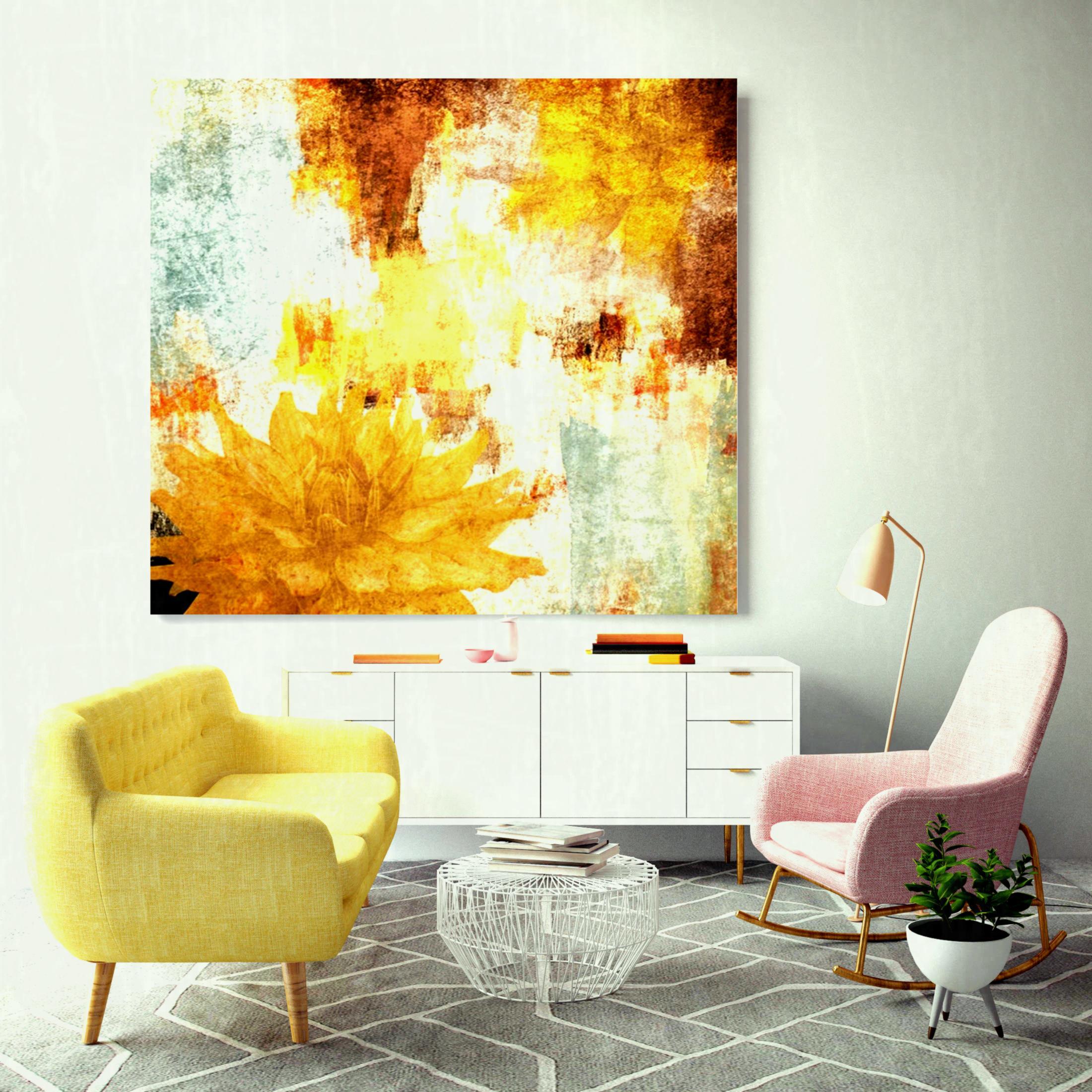مدل تابلو نقاشی های مدرن در دکوراسیون خانه