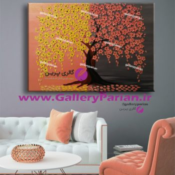 نقاشی درخت،نقاشی درخت برجسته،نقاشی شکوفه های زرد،نقاشی شکوفه های برجسته،تابلو نقاشی گلبه ای،تابلو نقاشی زرد،تابلو نقاشی زرد و طوسی ،نقاشی گل برجسته زرد،نقاشی گل برجسته گلبه ای،نقاشی پاییزی
