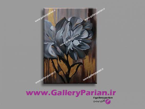 تابلو نقاشی مدرن،نقاشی ورق طلا،نقاشی دکوراتیو،نقاشی طوسی،نقاشی گل،ورق طلا،تابلو ورق طلا،تابلو دکوراتیو،فروش تابلو نقاشی مدرن